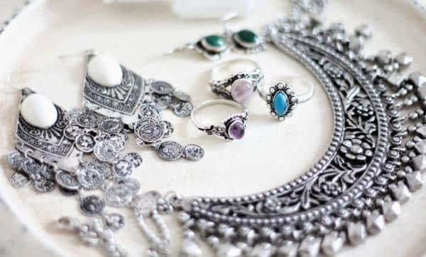 silver boho tribal jewellery collection ii Los cinco mejores limpiadores de joyas eléctricos del mercado actual
