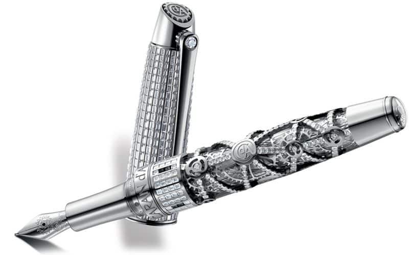 1010 Diamonds by Caran dAche Una mirada más cercana a los 1010 diamantes de $ 1 millón de Caran d'Ache