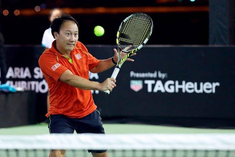 Maria Sharapova y Michael Chang jugarán en la primera plataforma flotante de tenis de Singapur