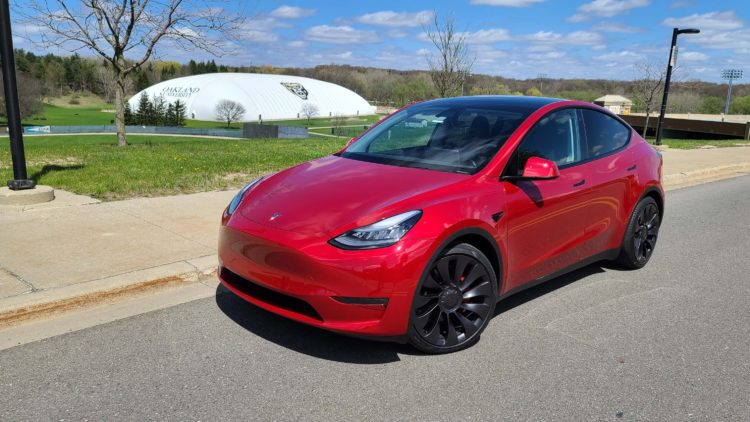 2020 Tesla Model Y 1st