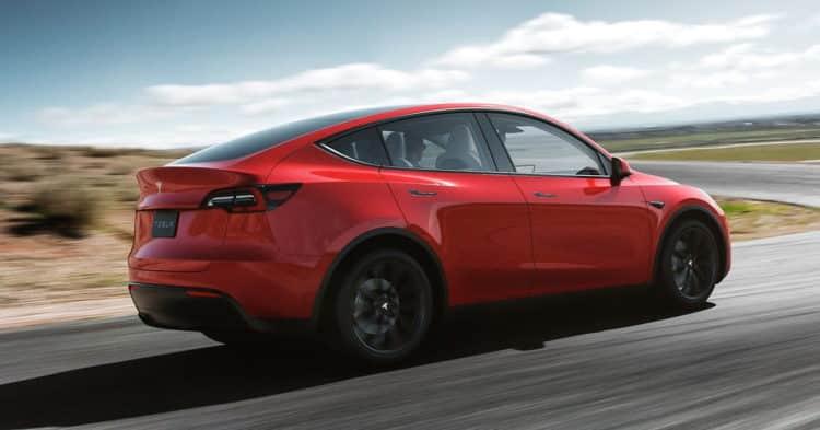 2020 Tesla Model Y volver