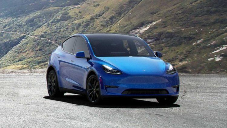 2020 Tesla Model Y delantero