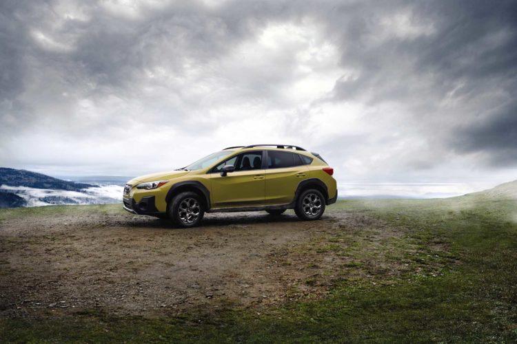 2021 Subaru Crosstrek lateral