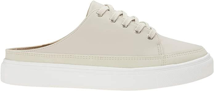 Agos Mens Fashion Backless Slip on Mule Sneakers Los 10 mejores pares de zapatillas deportivas Mule para hombre