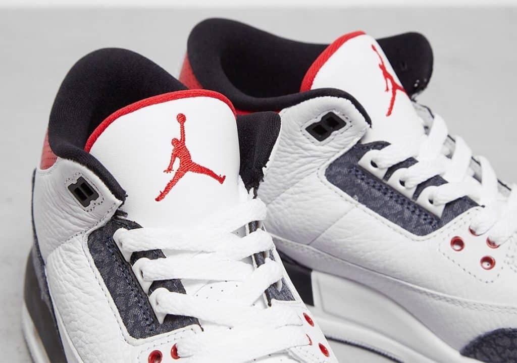 "Air Jordan 3 Japanese Denim Una mirada más cercana a las Air Jordan 3 ""Japanese Denim"""