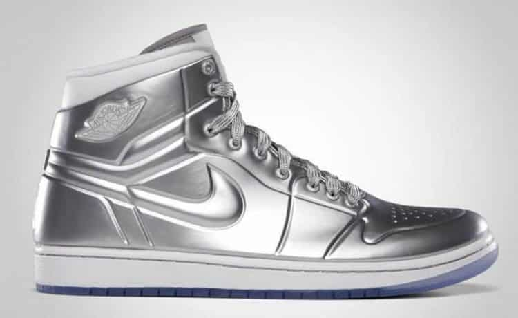 Air Jordan Silver Shoe Los 20 zapatos más caros del mundo