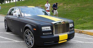 Antonio Brown Rolls Royce 10 jugadores de la NFL que llegaron al campo de entrenamiento en Sweet Rides