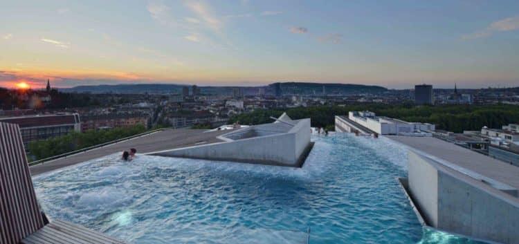 B2 Boutique Hotel Wellness 01 Los cinco mejores hoteles de lujo en Zúrich, Suiza