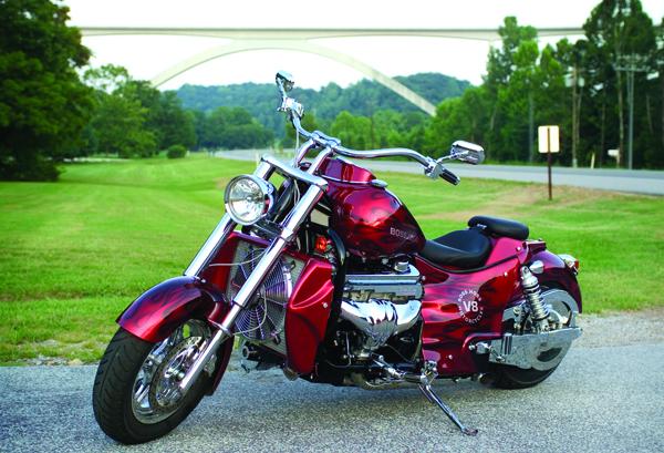 BH 350posterImage .Las 5 mejores motocicletas Boss Hoss V8 de hoy 2021