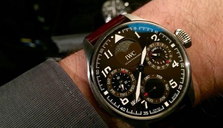 Gran Reloj de Piloto Edición Calendario Perpetuo