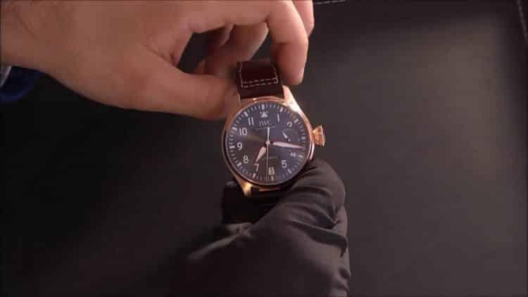 Gran reloj de piloto Spitfire