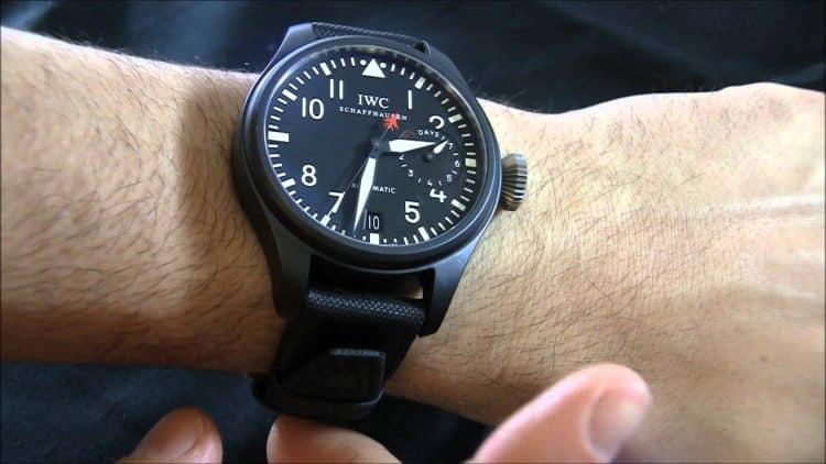 Top Gun del reloj de piloto grande