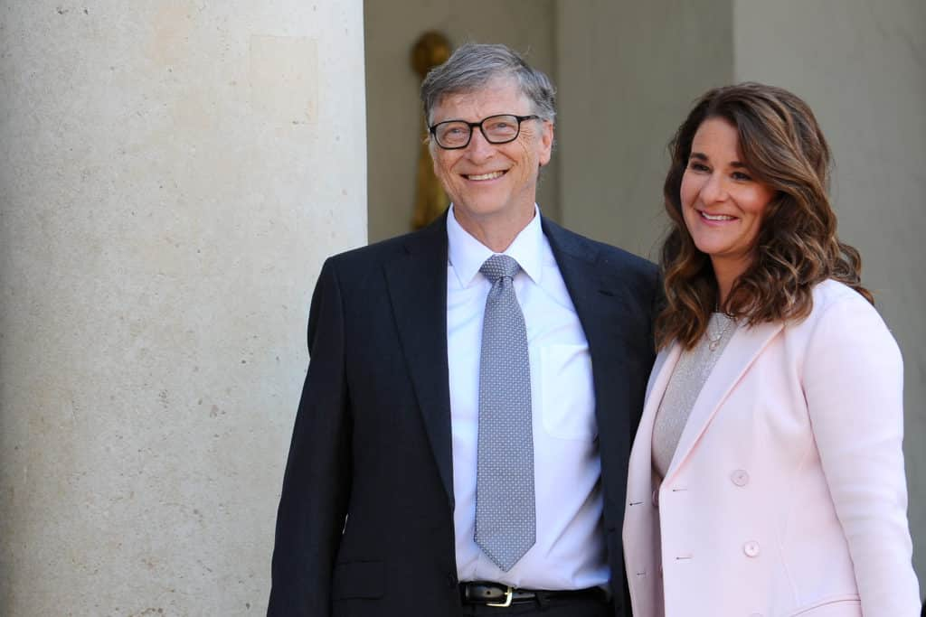 Bill and Melinda Gates Las 20 parejas más ricas del mundo (actualizado para 2020)