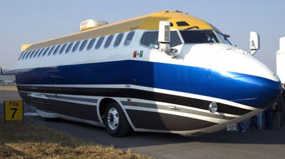 Limusina Boeing 727