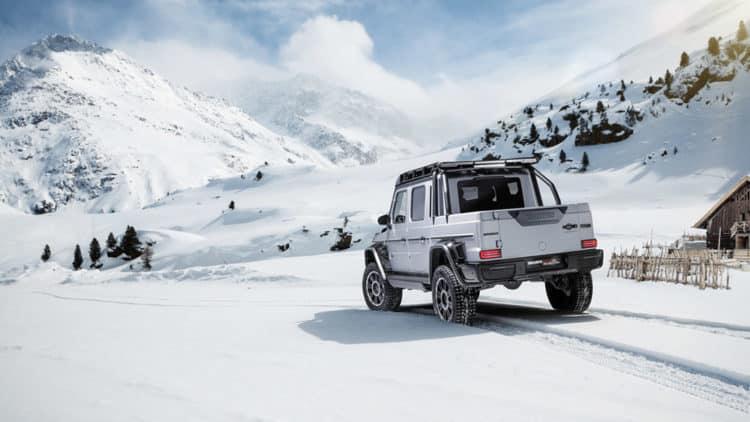 Camioneta Brabus 800 XLP trasera 2