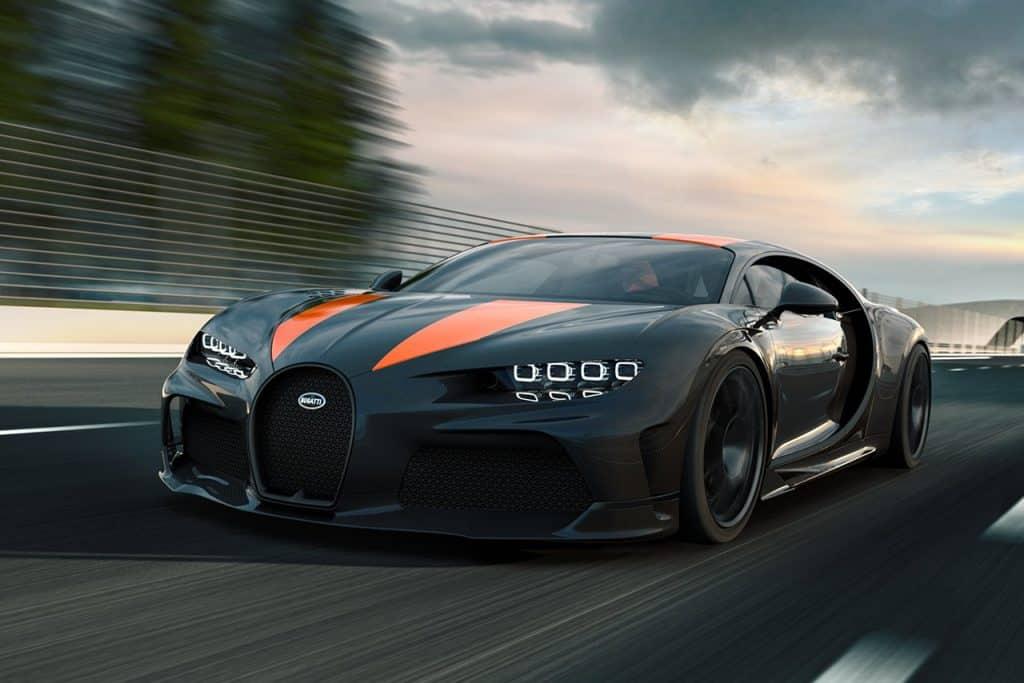 Bugatti Chiron Super Sport 300 Una mirada más cercana al Bugatti Chiron Super Sport 300+
