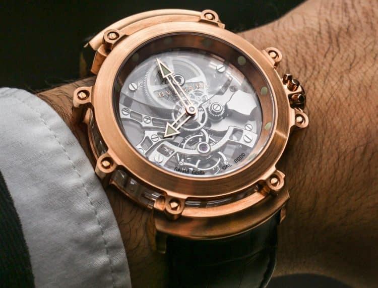 Reloj Bulgari Tourbillon Saphir Hands-On
