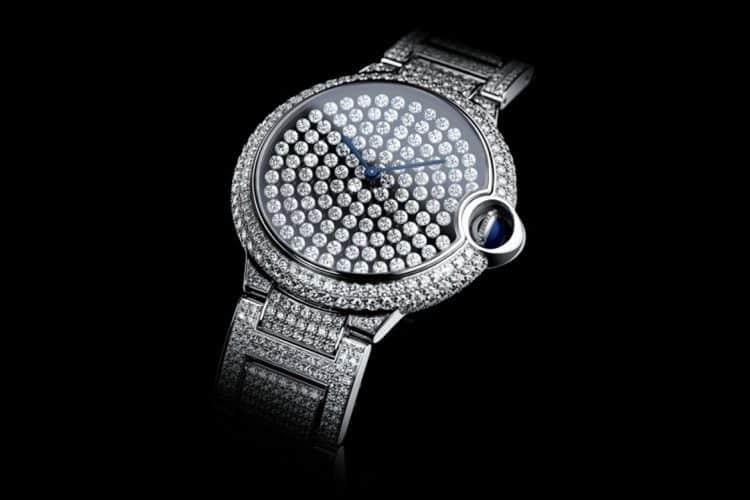 Cartier Ballon Bleu De Cartier Serti Vibrante