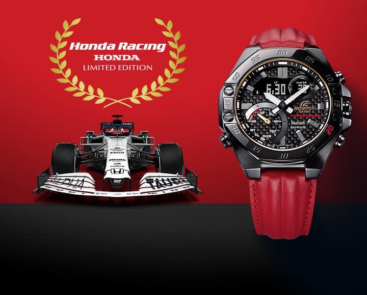Casio Edifice Honda Racing Limited Edition Una mirada más cercana a Casio Edifice Honda Racing Limited Edition