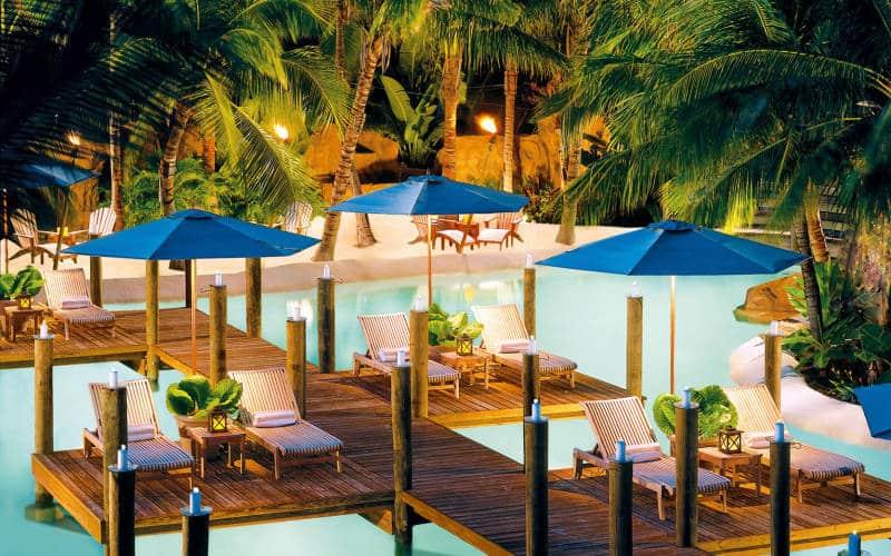 Cheeca Lodge Spa Los 10 mejores hoteles de playa en los Estados Unidos