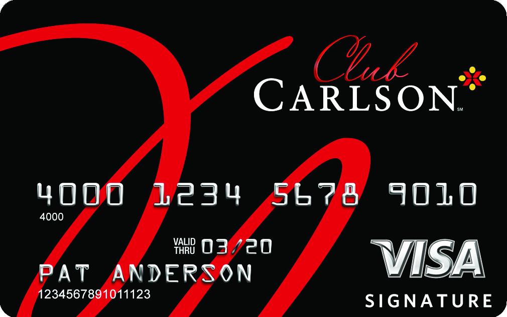 Club Carlson Credit Card 10 beneficios de tener la tarjeta Visa Signature Club Carlson Premier Rewards