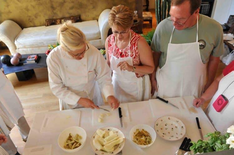 Clases de cocina Cucina con Vista