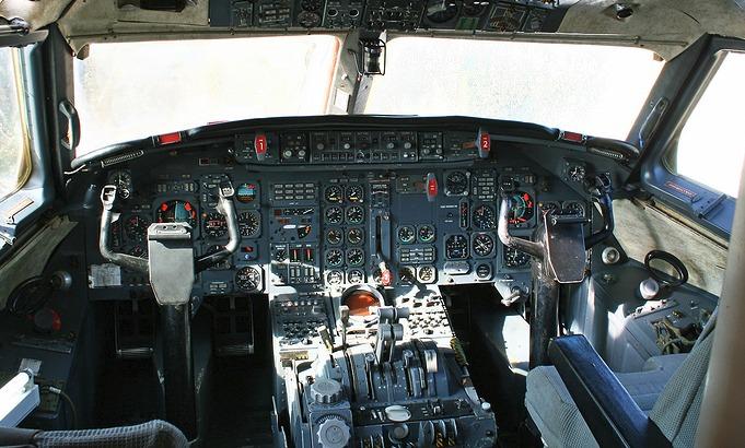 Dassault Mercure Cockpit 10 cosas que no sabías sobre Mercure de Dassault