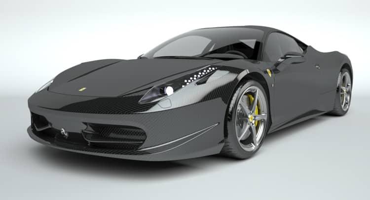 Ferrari 458 Italia 0 Los mejores diseños de automóviles de Vitesse AuDessus