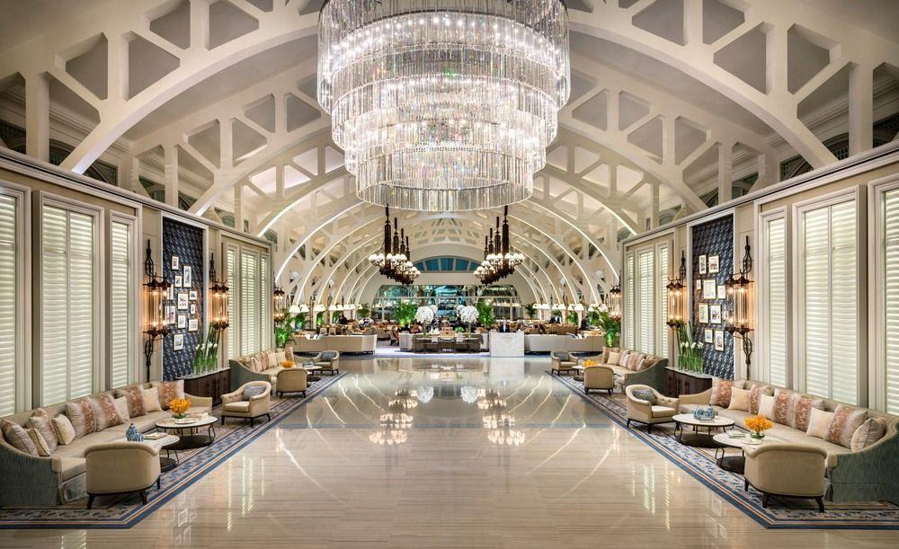 Fullerton Bay Hotel Singapore Los cinco mejores hoteles de lujo en Singapur