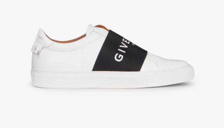 Zapatillas de cuero con tiras Givenchy