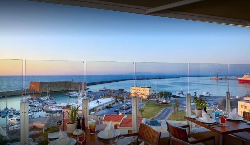 Herbs Garden Los 10 mejores lugares para comer en Creta, Grecia: Donde comer en Creta: Que comer en Creta: Mejores restaurantes Creta.