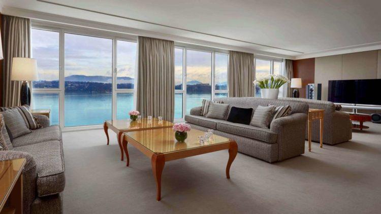 Hotel President Wilson Los 5 mejores hoteles de lujo en Ginebra, Suiza