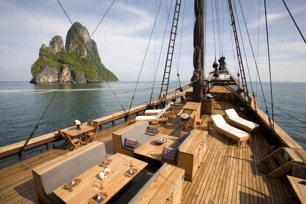 Indonesia Sailing Cinco de los mejores puntos calientes de navegación asiática