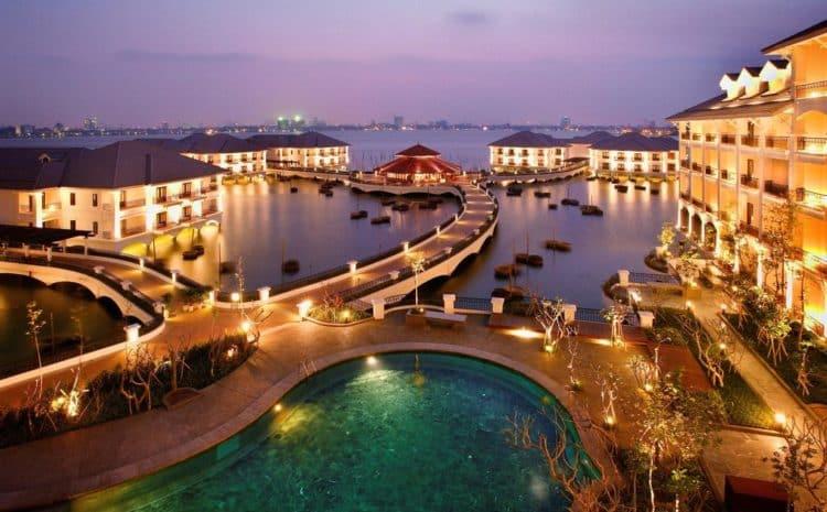 InterContinental Hanoi Westlake Los cinco mejores hoteles en Hanoi, Vietnam