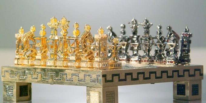 Chess set J. Grahl