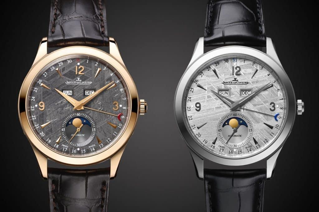 Jaeger LeCoultre Master Calendar Meteorite dial 1 Los 10 mejores relojes Jaeger-LeCoultre de todos los tiempos