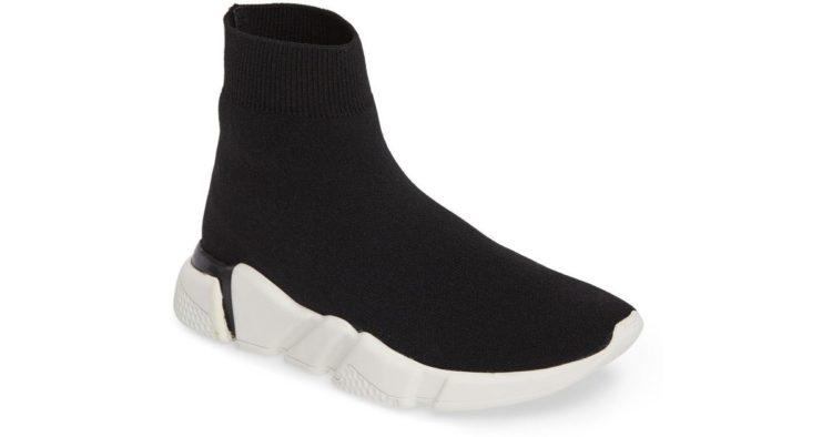 Jeffrey Campbell Tenko Ankle High Top Sock Sneaker