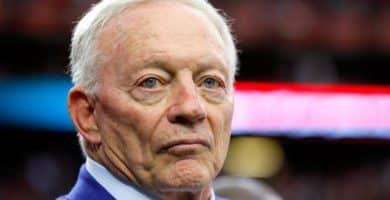 Jerry Jones Los 15 propietarios de equipos más ricos de la NFL
