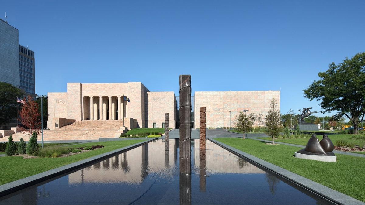 Joslyn Art Museum .10 lugares para visitar en Omaha Nebraska para un turista (Actualizado)