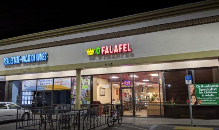 Rey del falafel