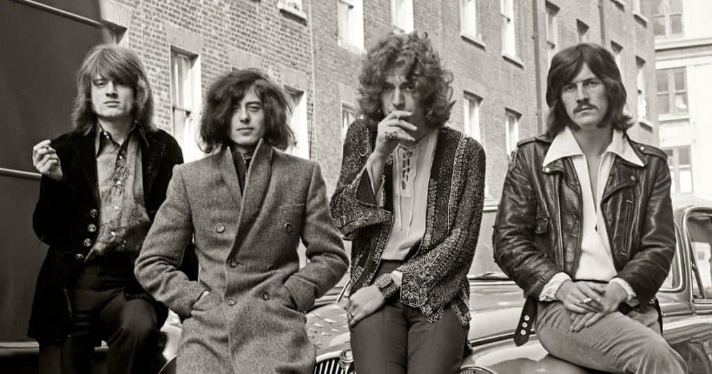 Led Zeppelin 10 bandas legendarias que participaron en comerciales ridículos