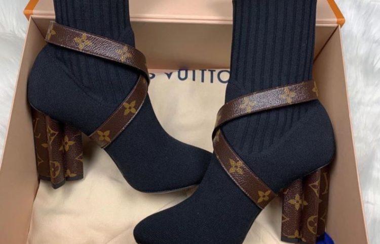 Botines con silueta de Louis Vuitton