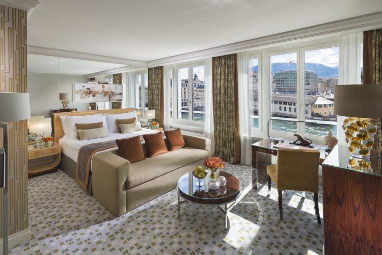 Mandarin Oriental Geneva: los 5 mejores hoteles de lujo en Ginebra, Suiza
