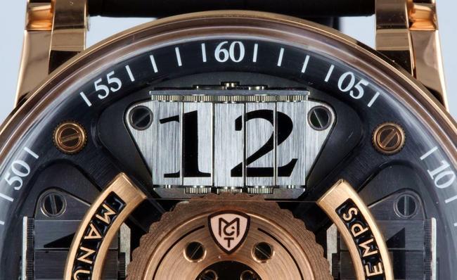 Manufacture Contemporaine du Temps Cinco relojes brillantes de Manufacture Contemporaine du Temps