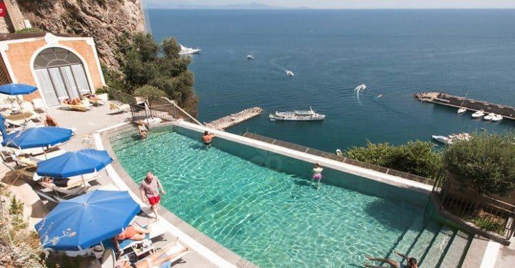 NH Collection Grand Hotel Convento di Amalfi Los cinco mejores hoteles de 5 estrellas de la costa de Amalfi