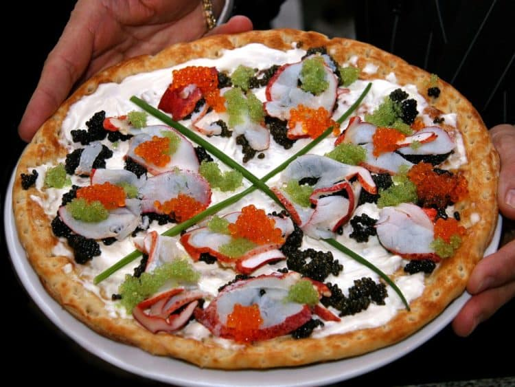 Nino Bellissima Pizza The most expensive slices of pizza in the world