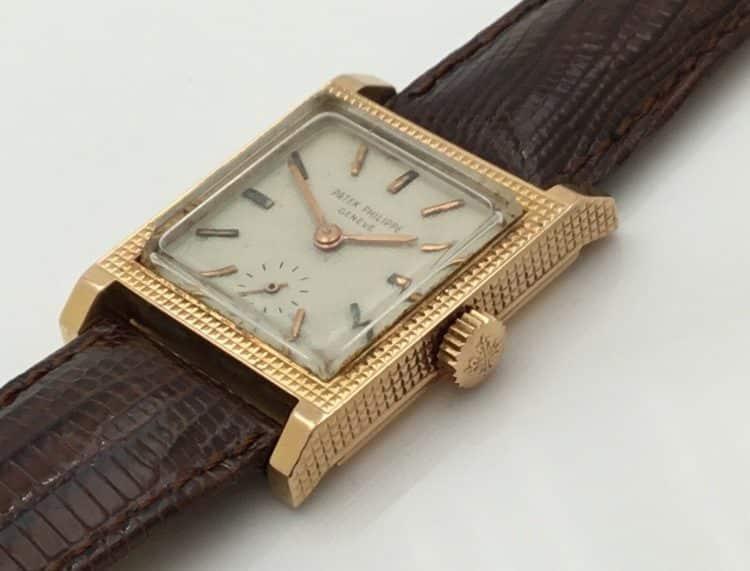 Patek Philippe Reloj mecánico suizo vintage unisex Geneve en oro amarillo de 18 quilates Ref. # 3491