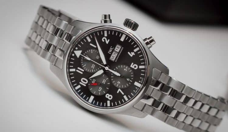Reloj de piloto Cronógrafo Spitfire