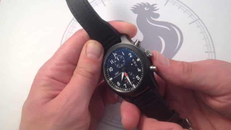 Reloj de piloto Cronógrafo Top Gun