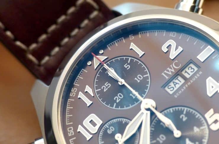 Reloj de piloto Edición cronógrafo doble
